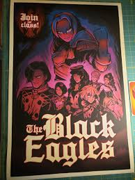 Get it today and change the way your device looks instantly! I Drew A Black Eagles Poster On My First Playthrough Fireemblem