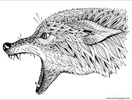 Printable Wolf Pictures Wolf Coloring Pages For Kids Free Printable