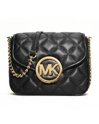 Michael michael kors Fulton Quilted Crossbody in Black | Lyst & Gallery Adamdwight.com