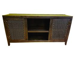 industrial media furniture. industrial media consolecabinet living room furniture vintage console front view industrialfurniturecocom i