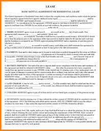 9 Free Printable Basic Rental Agreement St Columbaretreat House