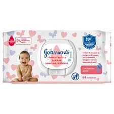 <b>Салфетки Johnsons baby</b>, 64 шт | Магнит Косметик