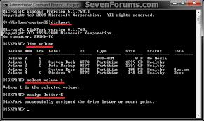 d drive letter add change remove windows cmd