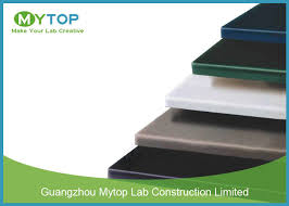 chemical resistant resin laboratory countertops for lab working table