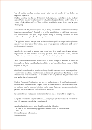 Medical Assistant Resume Cover Letter Free Resume Example And