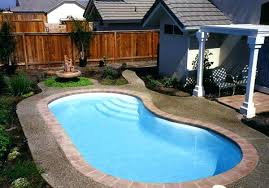 Phoenix Swimming Pool Design Ideas For Small Backyards  Shasta Swimming Pool In Small Backyard