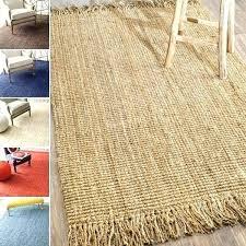 jute rug handmade natural fiber chunky loop 8 x ping great deals on 10x14 rugs wool