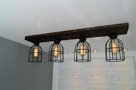 marvelous wood chandelier