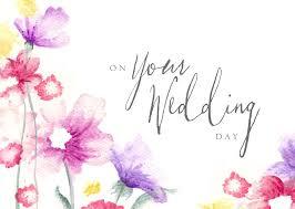 Flower Wedding Congratulations Card Achievement By Brookhollow