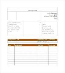 Software Quotation Format In Word Website Sample Doc Plumbing Form ...