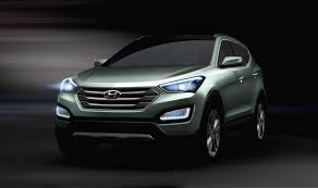 new car launches of 2013New Teaser Images of 2013 Hyundai Santa Fe