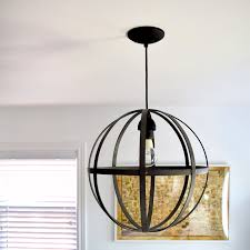 orb light fixture. Diy-pendant-orb-light Orb Light Fixture K