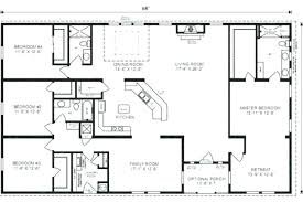 4 bedroom ranch house plans. 4 Bedroom Floor Plans Simple House Ranch Love