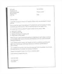 Cover Letter Template Ms Word Medical Office Assistant Cover Letter