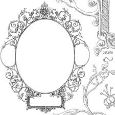 Vintage frame design oval Border Elegant 500x500 Gorgeous Free Vintage Frames Borders Amp Ornaments Starsunflower Getdrawingscom Ornate Oval Frame Vector Free At Getdrawingscom Free For Personal