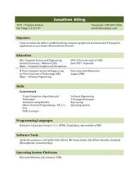 resume for students format 13 student resume examples high school and college