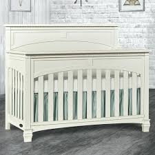 gray nursery furniture. Distressed Nursery Furniture 5 In 1 Convertible Crib White Wood . Gray A