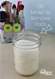 easy and diy makeup remover pads via juddling act mama