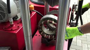 electric motor wrecker brise moteur tromotorenknacker sping electric motor machine you