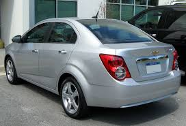 File:2012 Chevrolet Sonic LTZ sedan rear -- 04-09-2012.JPG ...