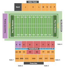 Roy Kidd Stadium Seating Chart Eastern Kentucky Colonels Vs Austin Peay Governors Tickets