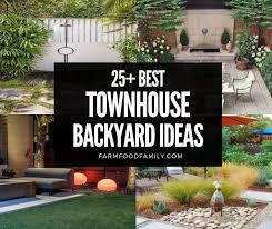 25 small townhouse backyard ideas