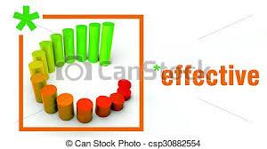 Effective Business Rising Graph Chart