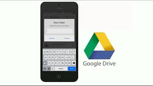 ios upload image to google drive