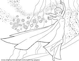 Free Disney Coloring Pages Frozen Anna Maria Pictures Rainbow