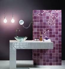 modern bathroom tile colors. Beautiful Bathroom Purple Bathroom Tiles And Monichromatic Color Scheme And Modern Bathroom Tile Colors O