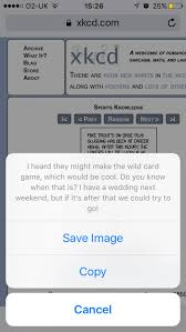 How To Read XKCD & Image Title/Alt Text On A Phone | BlueGreen