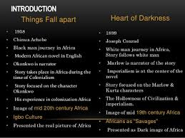 representation of africa in heart of darkness things fall apart  things fall apart