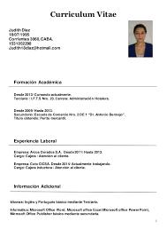 Modelo De Curriculum Vitae En Word Curriculum Vitae Modelo Weareeachother Coloring