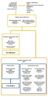 Cee Emergency Organisation Chart