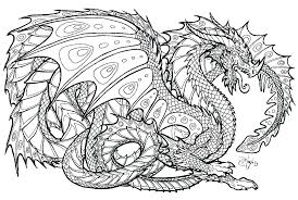 Complicated Animal Coloring Pages Intricate Printable Detailed Free