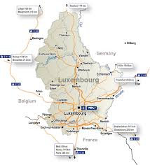 luxembourg maps  luxembourg