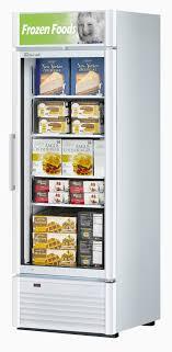 countertop display freezer luxury turbo air tgf 23sd 23 cu ft glass door merchandising freezer