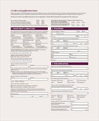 Credit Check Release Form Magnificent 44 Sample Credit Card Forms Sample Templates
