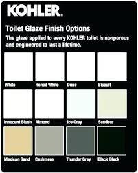 Kohler Toilet Seat Color Chart Newstrendy Info