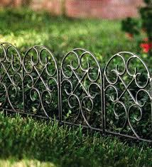 garden picket fence edging garden edging fence image of garden border fence metal picket fence garden garden picket fence edging