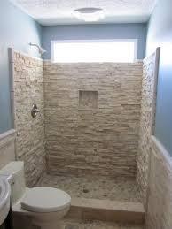 Marvellous Inspiration 10 Doorless Shower Designs For Small Bathrooms