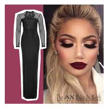 eye makeup to go with black dress what makeup goes with black and gold dress