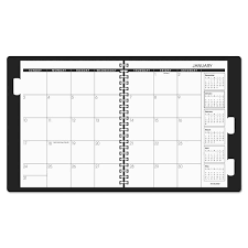 Multi Year Planner Shop At A Glance Refillable Multi Year Monthly Planner 9 X