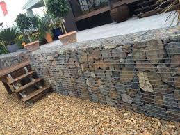 retaining wall design gabion retaining wall design supported new gabion walls design