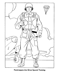 Printable Military Coloring Pages Coloringstar