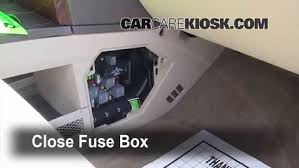 interior fuse box location buick rendezvous  interior fuse box location 2002 2007 buick rendezvous 2004 buick rendezvous cxl 3 6l v6