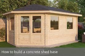 How to build a concrete house Concrete Forms Waltons Sheds How To Build Concrete Shed Base Waltons Blog Waltons Sheds
