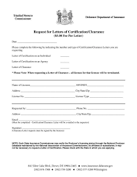 Clearance Certificate Sample 5 Certification Request Letter Templates Pdf Free