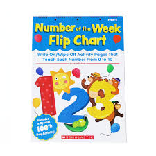 Number Of The Week Flip Chart Number Of The Week Flip Chart Write On Wipe Off Activity