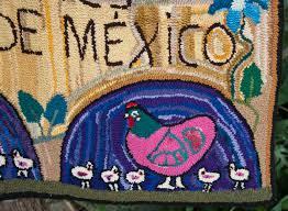 las rancheritas hooked rug las mejores mamas de mexico folk art ens bonifacia